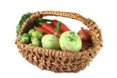warzywo koszykowa zima Obraz Stock