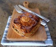 Warzywo lub mięsny pikantny kulebiak Zdjęcie Royalty Free