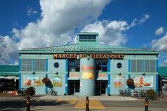 Warzywo rynek w Quebec mieście Obrazy Royalty Free