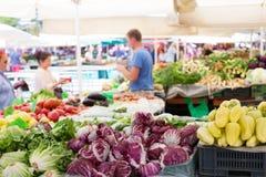 Warzywo rynku kram Zdjęcia Royalty Free