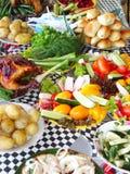 Warzywo stół Obrazy Stock