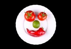 Warzywo uśmiech Zdjęcie Stock