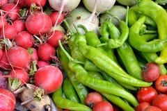 Warzywo w zieleni i czerwieni zdjęcie royalty free