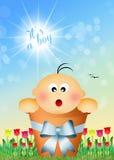 Was born a boy. Illustration of was born a boy stock illustration