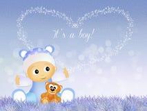 Was born a boy Stock Photo