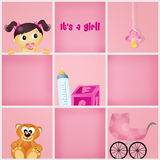 Was born a girl Stock Photography