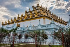 Atumashi Kyaung Buddhist Monastery, Mandalay, Myanmar. It was built in 1857 by King Mindon, two years after the capital was moved to Mandalay. The original royalty free stock image