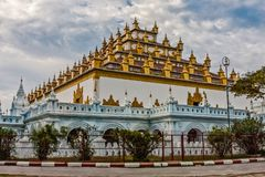 Atumashi Kyaung Buddhist Monastery, Mandalay, Myanmar. It was built in 1857 by King Mindon, two years after the capital was moved to Mandalay. The original stock photos