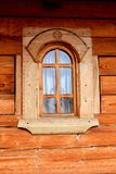 Window of monks rooms of Saint Anna-Rohia monastery, situated in a natural and isolated place Stock Images