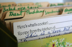 Was Cookin ist Lizenzfreie Stockbilder