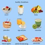 Was gekochtes geschmackvolles und gesund sein kann stock abbildung