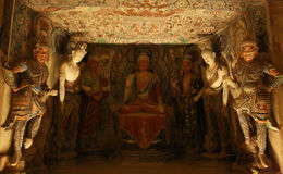 Boeddhistisch Art. Stock Afbeeldingen