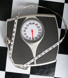 Was Ihr Gewicht? ist Stockbilder