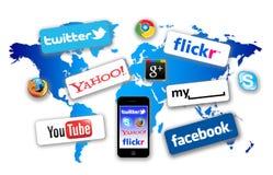 Was in Ihrem Netz ist Lizenzfreie Stockfotos