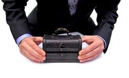 Was im Kasten ist Lizenzfreies Stockbild