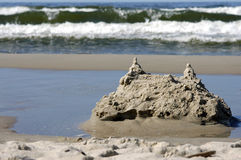 Was sand castle Stock Image