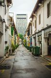 Streets of Singapore royalty free stock image