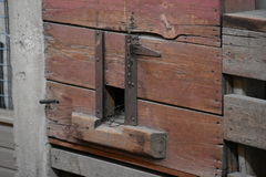 Feed Door Royalty Free Stock Image