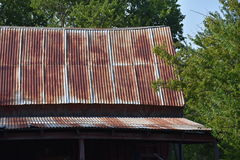 Tin Roof Royalty Free Stock Image