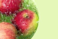 Was van appelen Royalty-vrije Stock Foto's