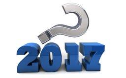 2017 - Was voran liegt, ist ein Geheimnis Lizenzfreies Stockbild