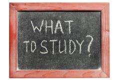 Was zu studieren Stockbilder