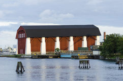 The Wasa shed Karlskrona Royalty Free Stock Photography