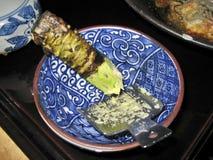 Wasabe frais Photos stock