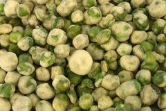 Wasabi豌豆 库存照片
