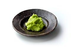 Wasabi. Fresh wasabi isolated on white Stock Photo
