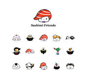 Wasabi friends Stock Photography