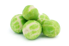 Wasabi Green Pea Balls Royalty Free Stock Photo