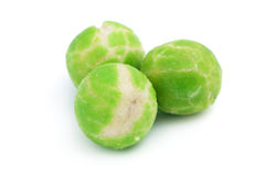 Wasabi Green Pea Balls Stock Photo