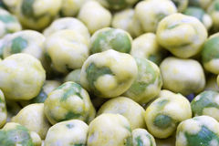 Wasabi Green Peas Stock Photo