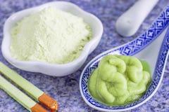 Wasabi horseradish Royalty Free Stock Photos