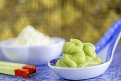 Wasabi horseradish Stock Photo