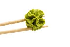 Wasabi isolado no fundo branco Foto de Stock