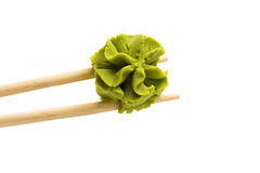 Wasabi isolated on white background Stock Photo