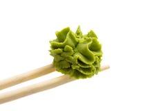 Wasabi isolated on white background Stock Photography