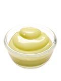 Wasabi mayonnaise isolated Royalty Free Stock Photography