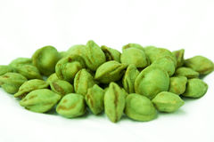 Wasabi Nuss Royalty Free Stock Photos