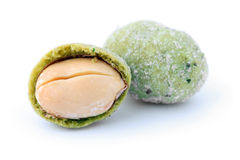 Wasabi Peanut Balls Royalty Free Stock Photography