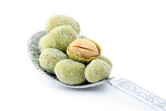 Wasabi Peanut Balls Royalty Free Stock Photos