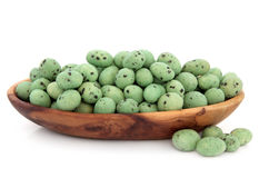 Wasabi Peanuts Stock Images