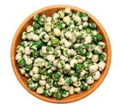 Wasabi peas Stock Photos