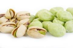 Wasabi peas Royalty Free Stock Image