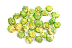 Wasabi peas isolated Royalty Free Stock Photos