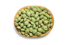 Wasabi snack peanuts Royalty Free Stock Photos