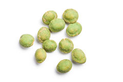 Wasabi snack peanuts Royalty Free Stock Photography