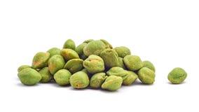 Wasabi snack peanuts Royalty Free Stock Image